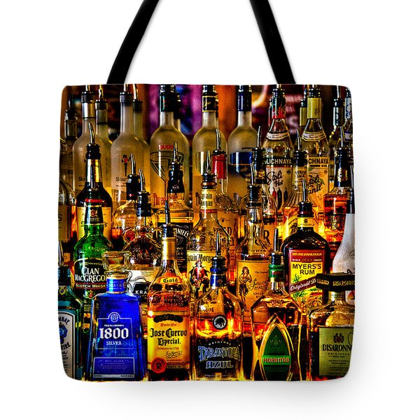Cheers - Alcohol Galore Tote Bag by David Patterson