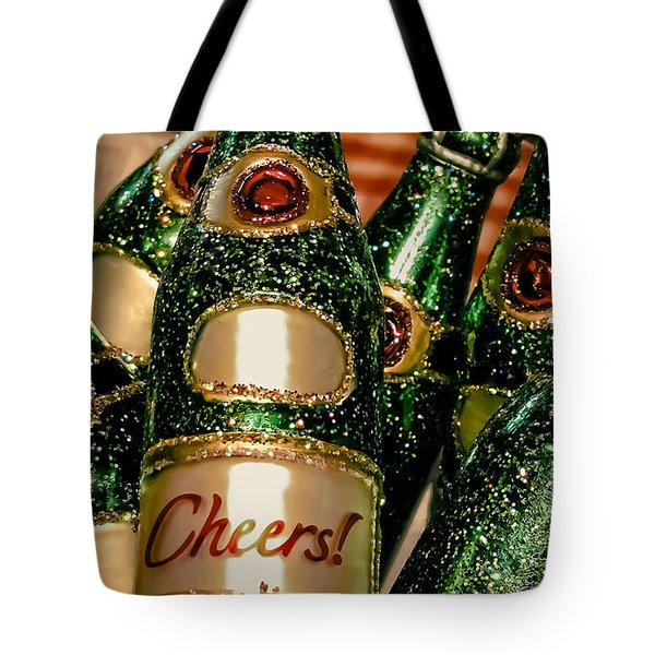 Cheers Tote Bag by Colleen Kammerer