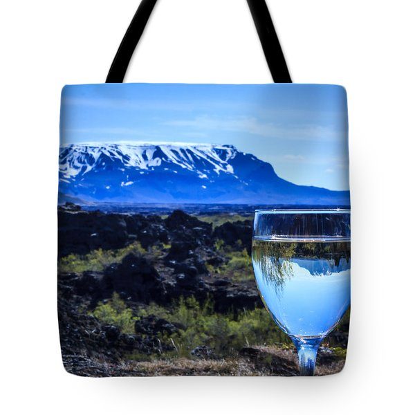 Cheers To Iceland Tote Bag by Peta Thames
