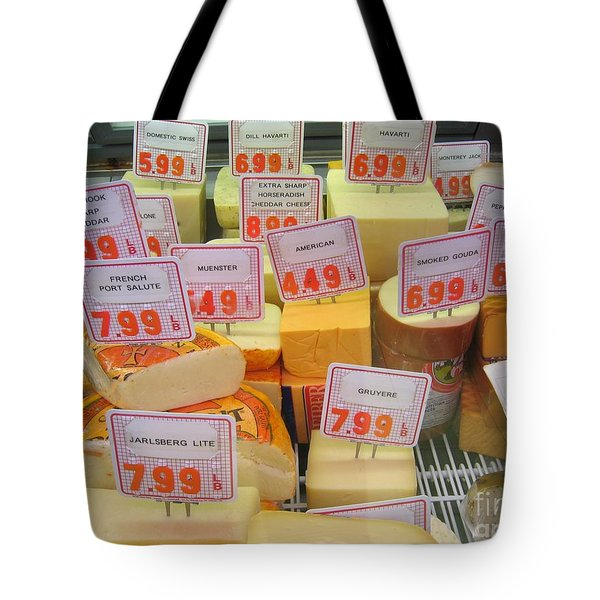 Cheese Display Tote Bag by James B Toy