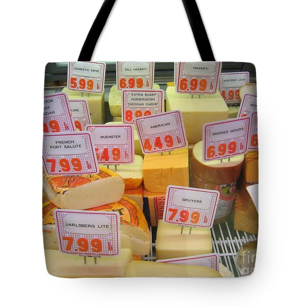 Cheese Display Tote Bag