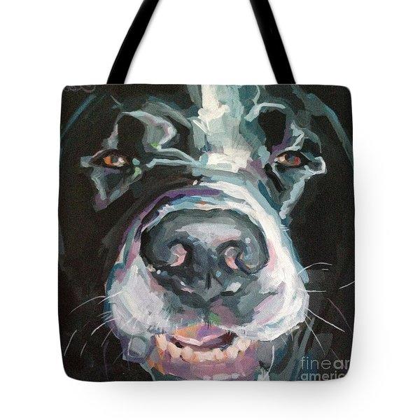 Cheese Tote Bag by Kimberly Santini