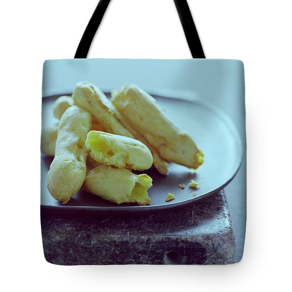 Cheese Puffs Tote Bag