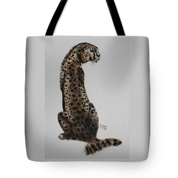 Cheetah - Spotted Warrior Tote Bag by Barbie Batson