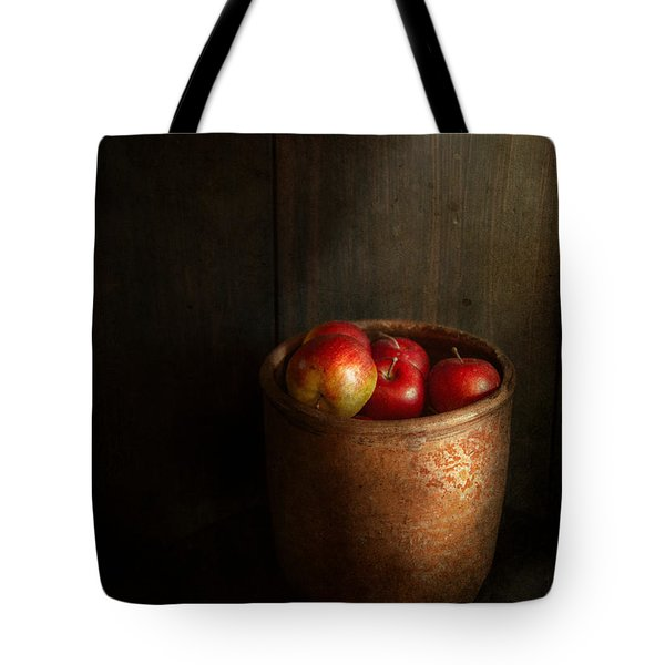 Chef - Fruit - Apples Tote Bag by Mike Savad