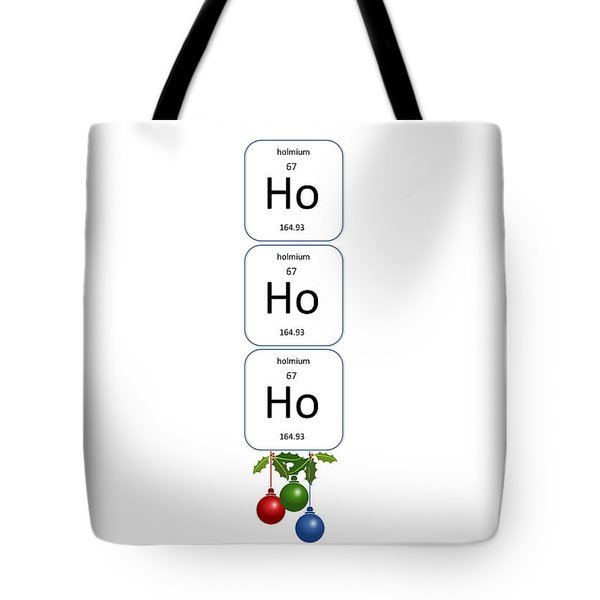 Chemistry - Ho Ho Ho Bell Pull Tote Bag