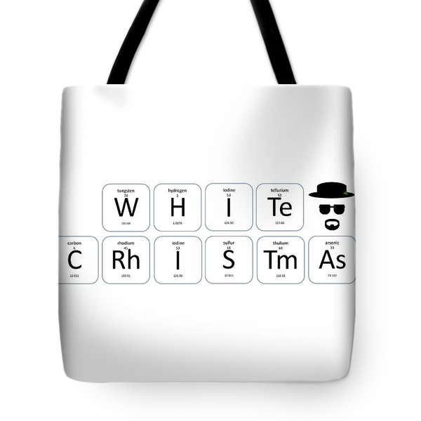 Chemistry - White Christmas Tote Bag