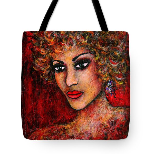 Cherise Tote Bag by Natalie Holland