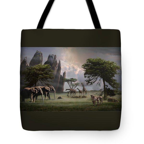 Cherish Our Earth's Creatures Tote Bag