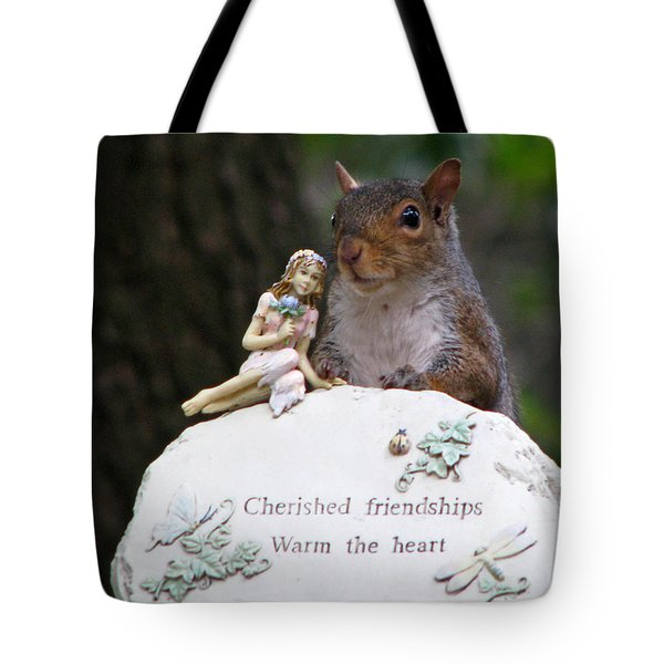 Tote Bag featuring the photograph Cherished Friendships by John Haldane