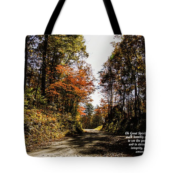 Cherokee Trail Tote Bag