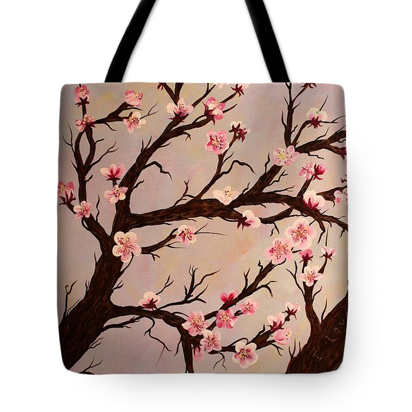 Cherry Blossom 1 Tote Bag by Barbara Griffin