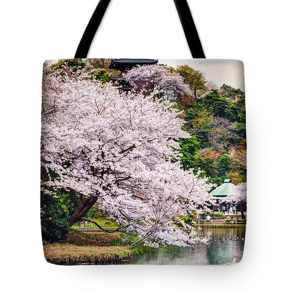 Cherry Blossom 2014 Tote Bag