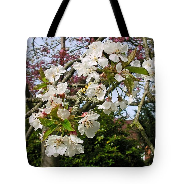Cherry Blossom In The Spring Tote Bag