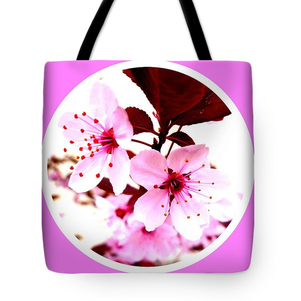 Cherry Blossom Tote Bag by The Creative Minds Art and Photography