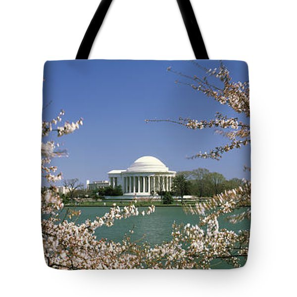 Cherry Blossom With Memorial Tote Bag