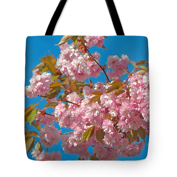 Cherry Blossoms 2 Tote Bag by Sharon Talson