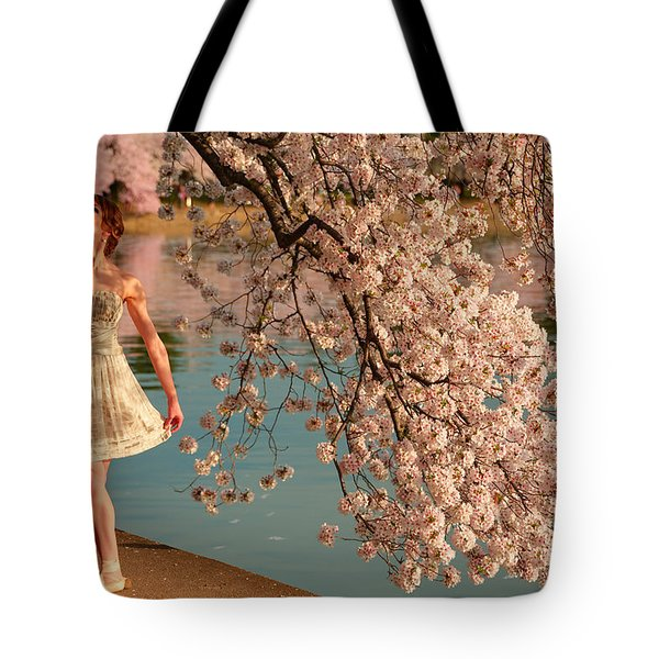 Cherry Blossoms 2013 - 082 Tote Bag