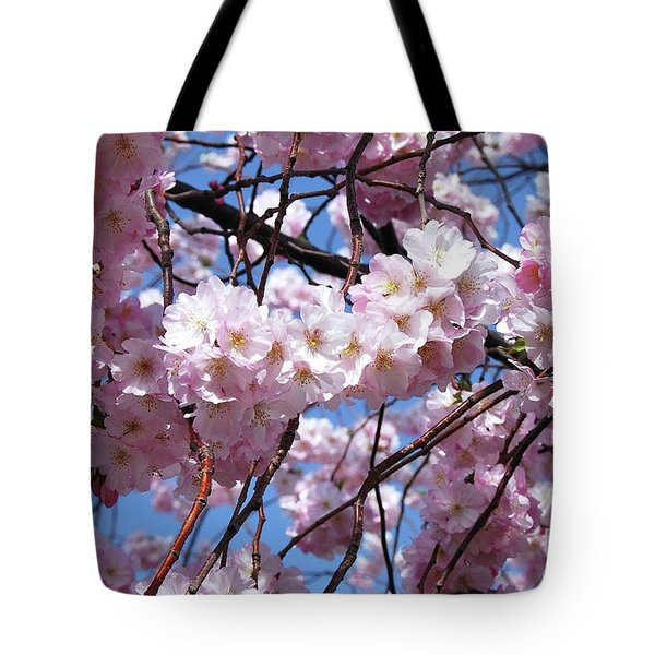 Cherry Blossom Trees Of Branch Brook Park 3 Tote Bag