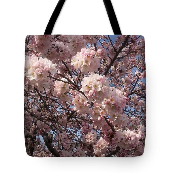 Cherry Blossoms For Lana Tote Bag by Emmy Marie Vickers