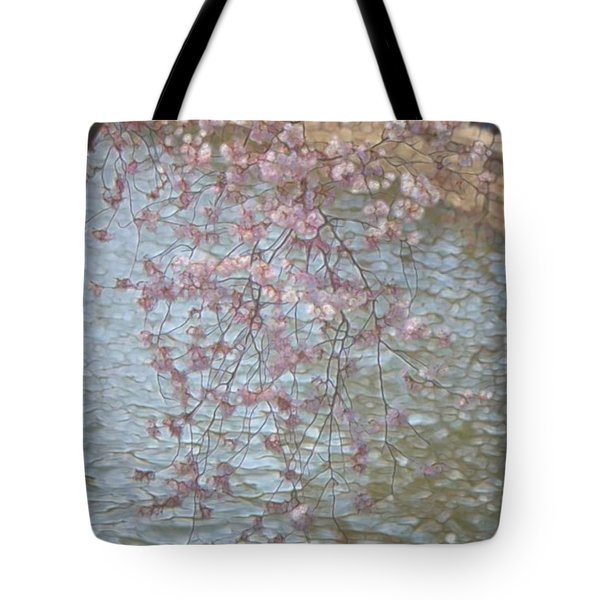 Cherry Blossoms P2 Tote Bag