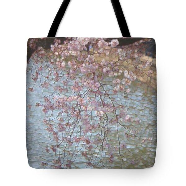 Cherry Blossoms P2 Tote Bag