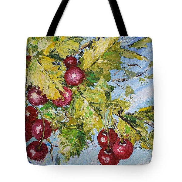 Cherry Breeze Tote Bag