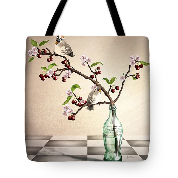 Cherry Coke Tote Bag