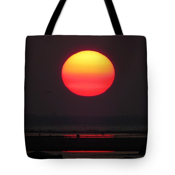 Tote Bag featuring the photograph Cherry Drop Sunrise by Dianne Cowen
