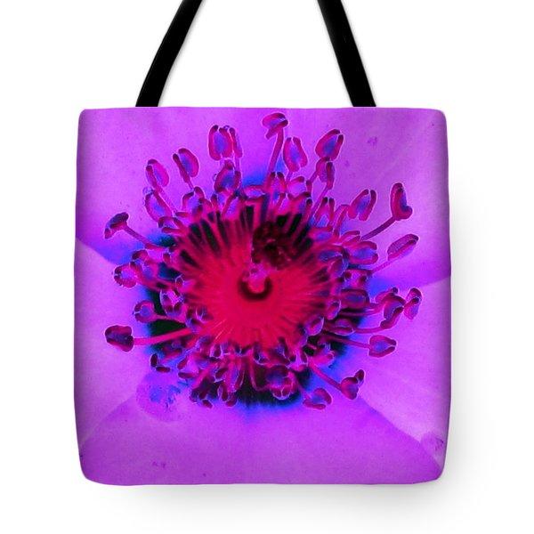 Cherry Pie Rose - Photopower 2827 Tote Bag