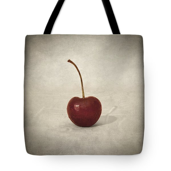 Cherry Tote Bag by Taylan Apukovska