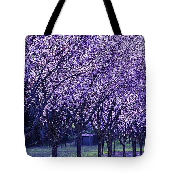 Cherry Trees In Bloom Tote Bag