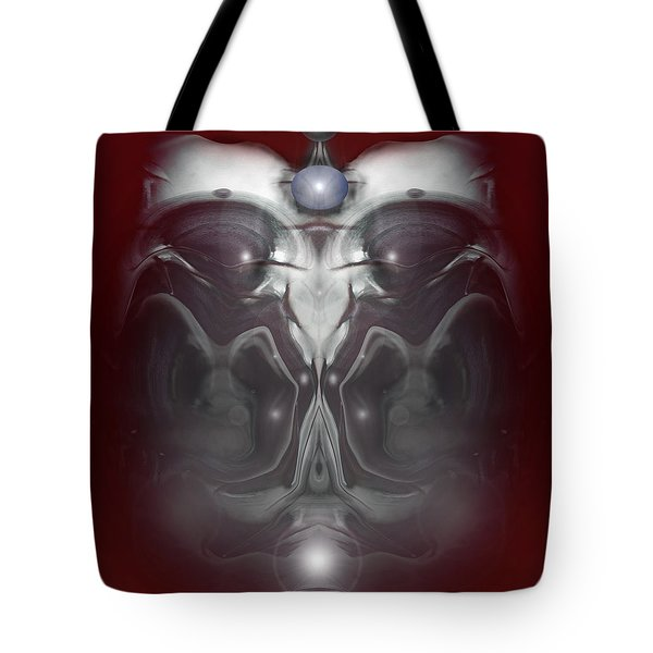 Tote Bag featuring the digital art Cherub 7 by Otto Rapp