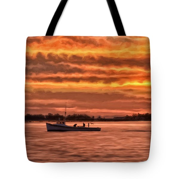 Chesapeake Watermen Tote Bag