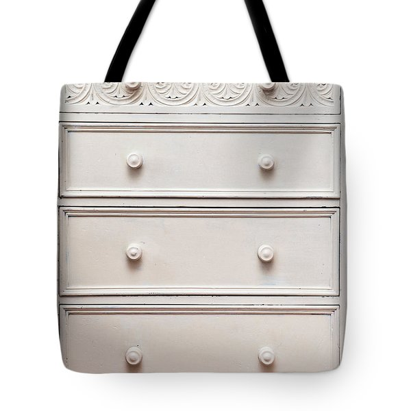 Chest Of Drawers Tote Bag by Tom Gowanlock