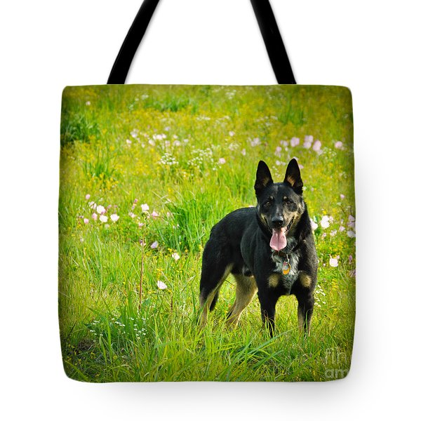Chester Tote Bag by Cheryl McClure