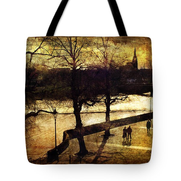 Chester Riverwalk Tote Bag by Mal Bray