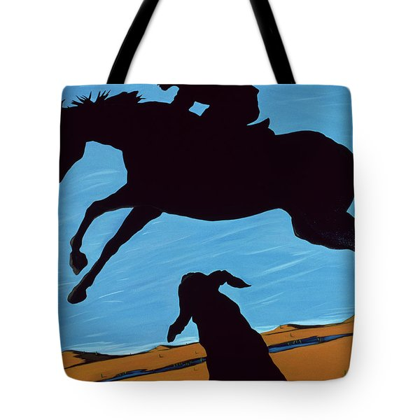 Chestertown Trials, 1999 Tote Bag by Marjorie Weiss