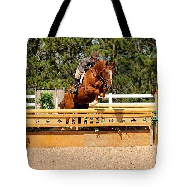 Chestnut Hunter Tote Bag
