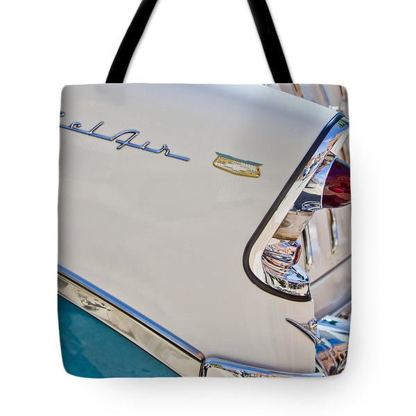 Chevrolet Bel-air Taillight Tote Bag by Jill Reger