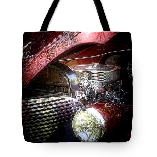 Chevrolet Master Deluxe 1939 Tote Bag by Tom Mc Nemar