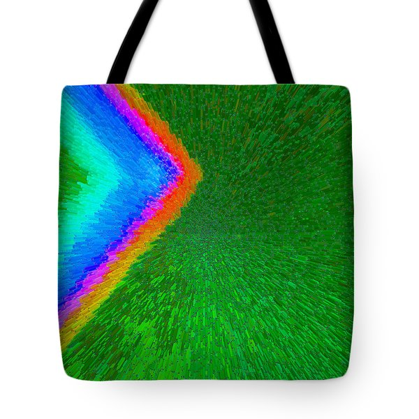 Chevron Rainbow C2014 Tote Bag