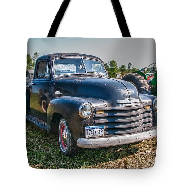 Chevy 1100 Tote Bag by Guy Whiteley