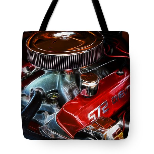 Chevy 572 Fractal Tote Bag