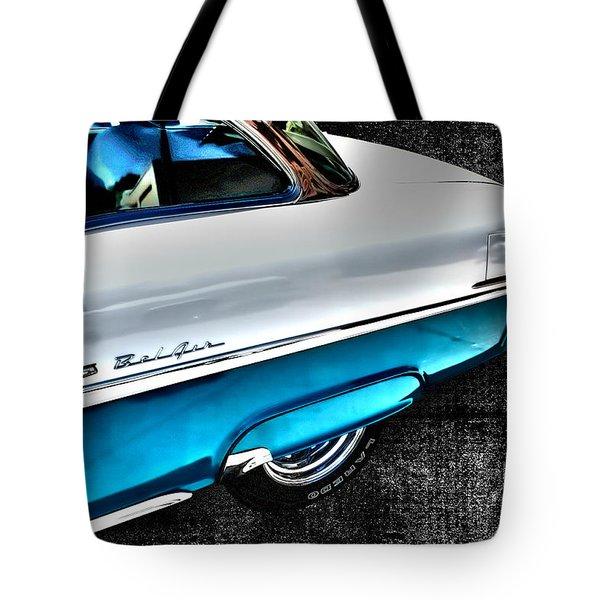 Chevy Bel Air Art 2 Tone Side View Art 1 Tote Bag
