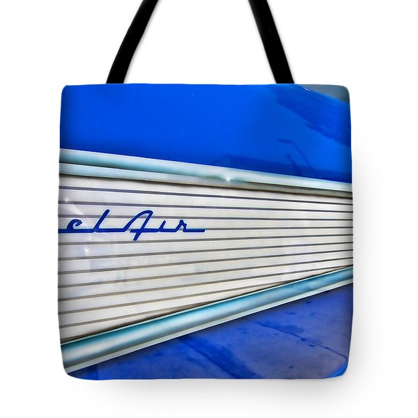 Tote Bag featuring the photograph Chevy Bel Air by Jason Abando