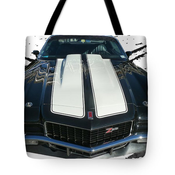 Chevy Camaro Z28 Tote Bag