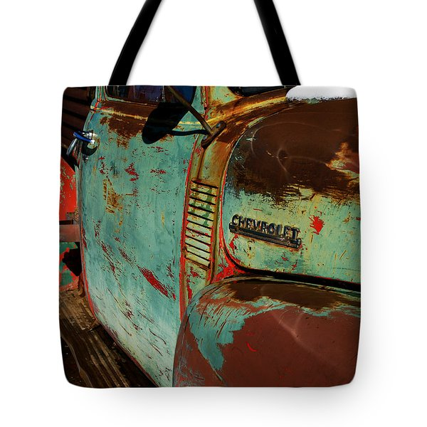 Arroyo Seco Chevy Tote Bag
