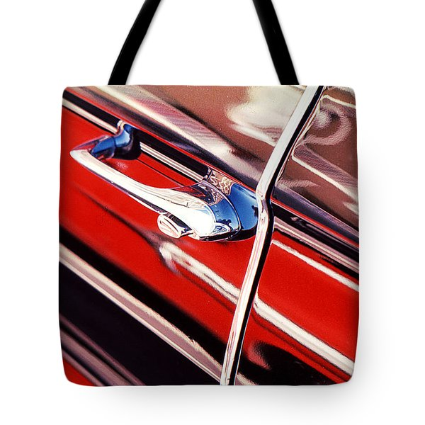 Tote Bag featuring the photograph Chevy Or Caddie? by Ira Shander