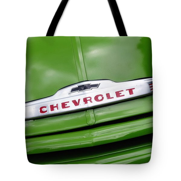 Chevy Ornament Tote Bag